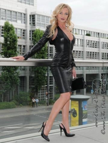 Leather Kingdom Fashion Shop Leather Dress Ds 031