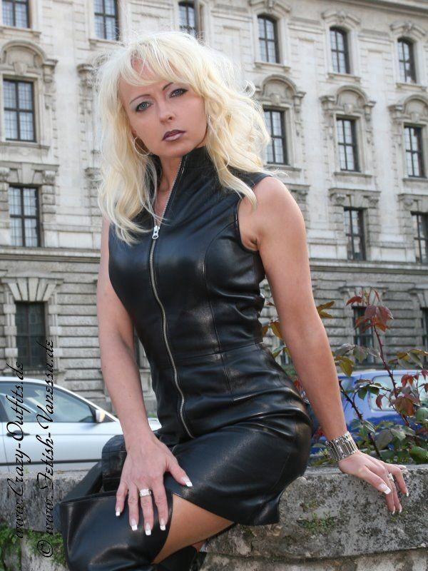 leather kingdom fashion shop leather dress 4 029. Black Bedroom Furniture Sets. Home Design Ideas