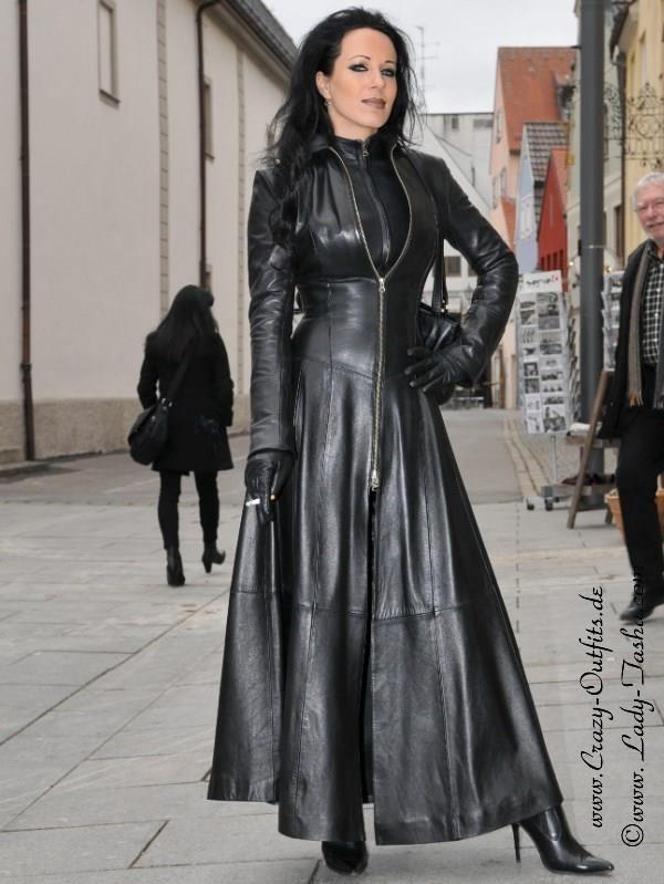 Leather jacket fetish