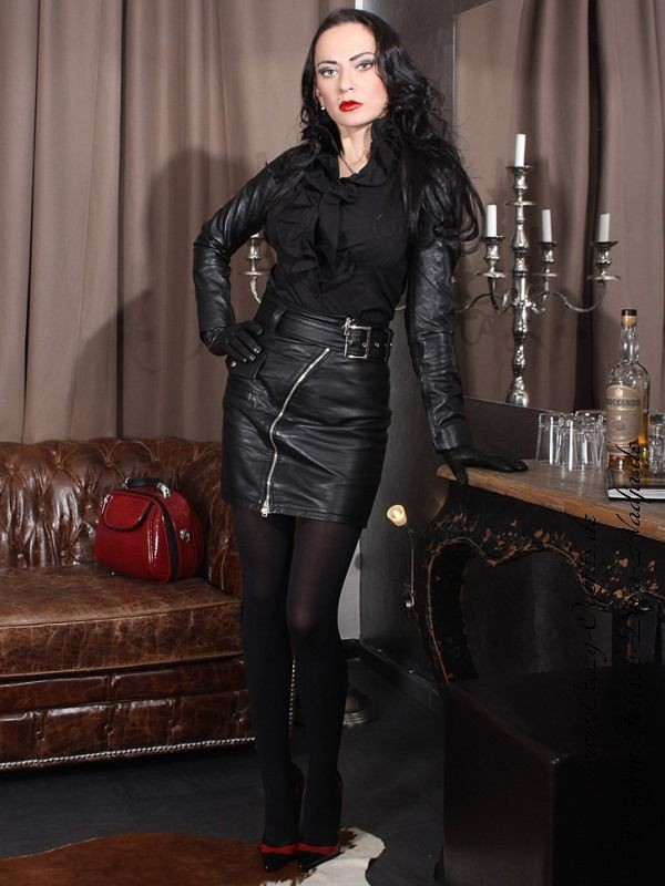 Leather Kingdom Fashion Shop - leather skirt with belt DS-544 ...