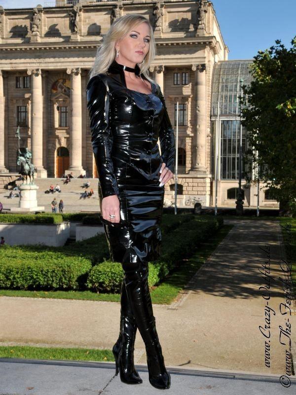 Leather Kingdom Fashion Shop Vinyl Skirt Ds 050rv