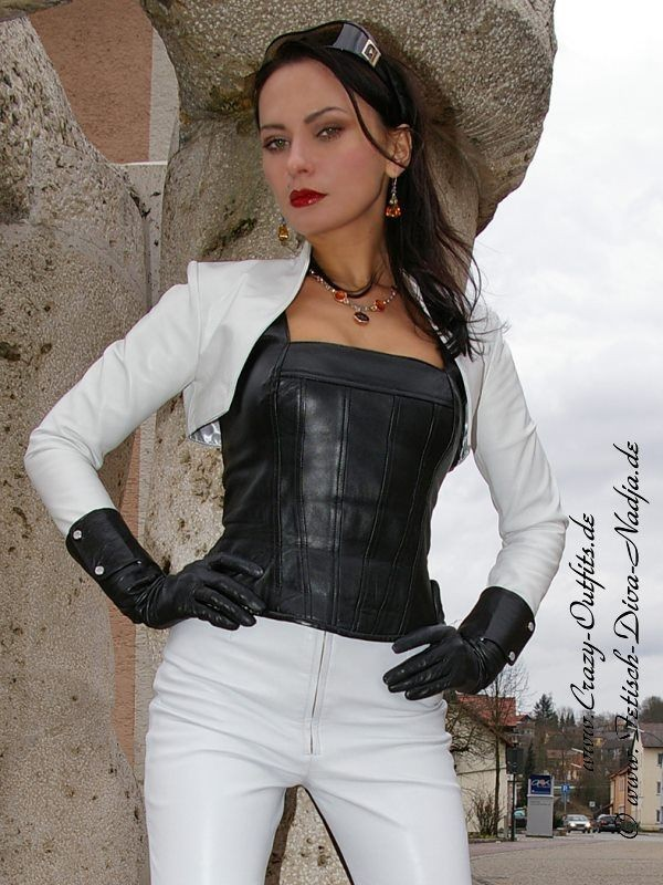 Leather Kingdom Fashion Shop Lederbolero Sjw 017