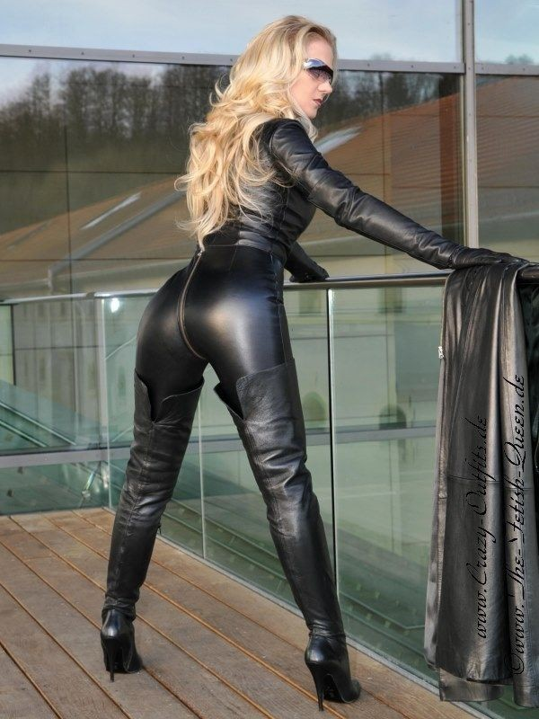 Leather Kingdom Fashion Shop Leather Catsuit 4 019