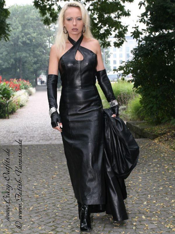 leather kingdom fashion shop leather dress ds 047 designed by crazy outfits. Black Bedroom Furniture Sets. Home Design Ideas
