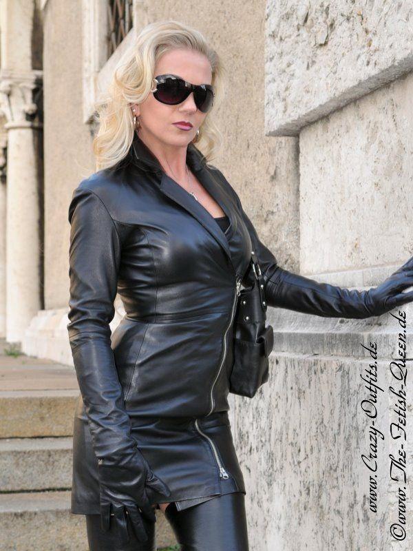 leather kingdom fashion shop leather dress ds 118 designed by crazy outfits. Black Bedroom Furniture Sets. Home Design Ideas