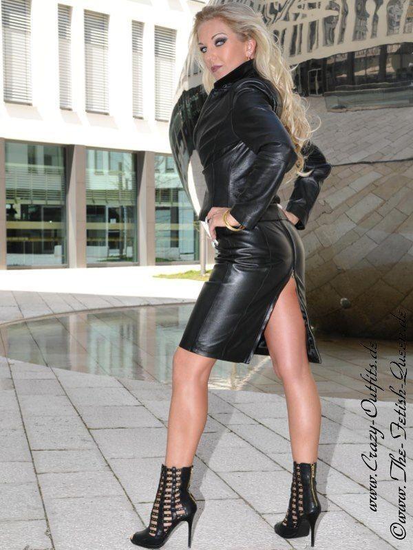 leather kingdom fashion shop lederkleid ds 124 designed by crazy outfits. Black Bedroom Furniture Sets. Home Design Ideas