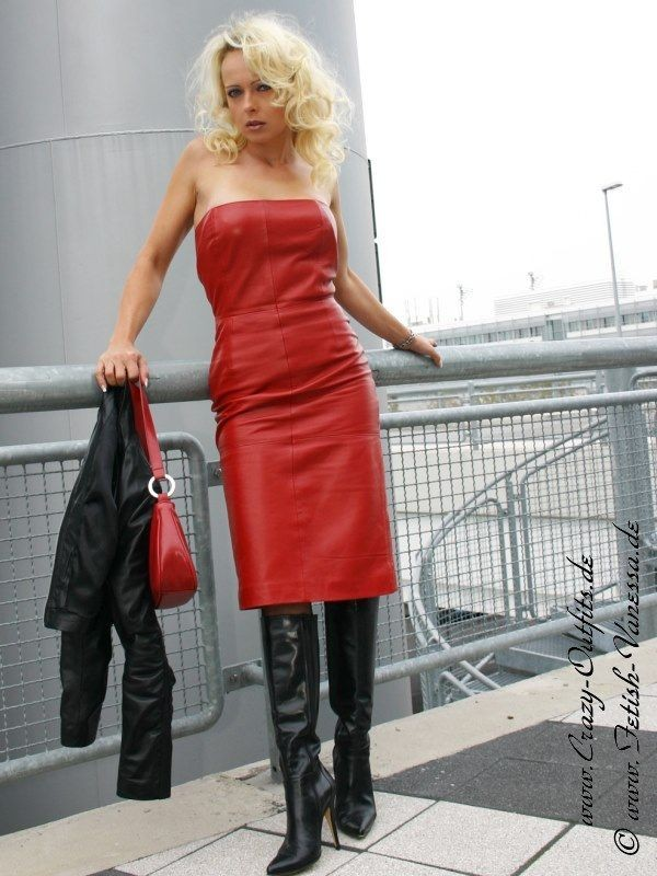 leather kingdom fashion shop lederkleid ds 005 designed by crazy outfits. Black Bedroom Furniture Sets. Home Design Ideas
