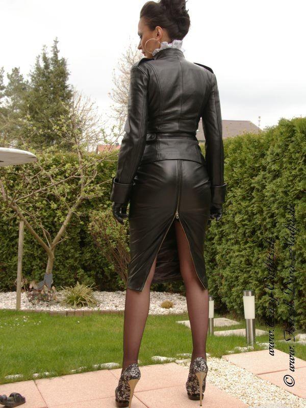 Ultimate leather heels stilettos shoes cuir leder - 2 10