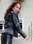 leather blouson DS-644