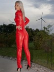leather catsuit 4-019