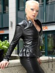 leather jacket DS-646